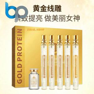 اسپری طلا و نخ پروتئین